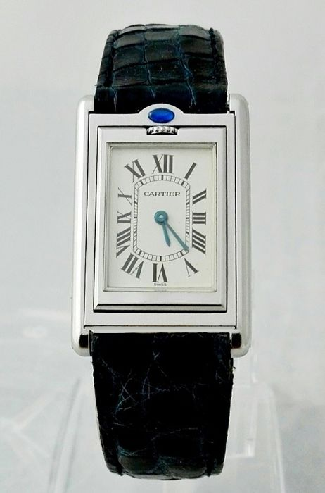 Cartier Tank Basculante Teversible Paris Jumbo Ref. 2405 – Men's watch
