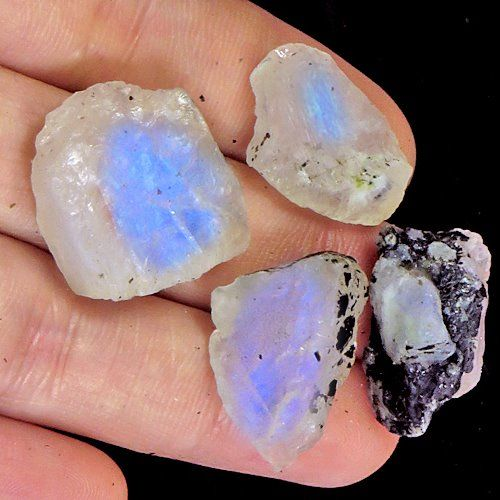 Untreated 100% Natural Moonstone - 72 ct (4 )