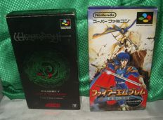 Famicon games Fire Emblem 5 Seisen no Keifu  and  Wizardry V: Heart of the Maelstrom