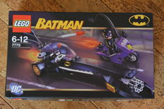 Batman - 7779  -The Batman Dragster: Catwoman Pursuit