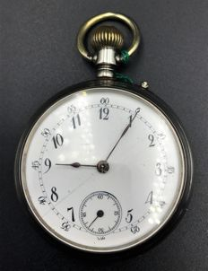 Swiss pocket watch, early 1900s.