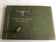 Third reich; Photo album  original photos and photos from 1939-1944, WW2.