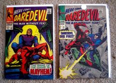 Marvel Comics - Daredevil Volume 1 - Issues 35 & 36 - 2x SC (1967/68)