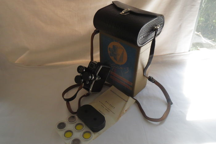 """Ekran-3"" (1965-1970) - 8-mm film camera. Production of KOMZ (Kazan)"