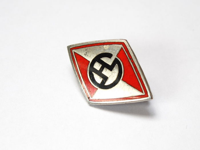 Hansa Lloyd Broche / badge - Made by Aurich of Dresden, Germany - 2,55 cm