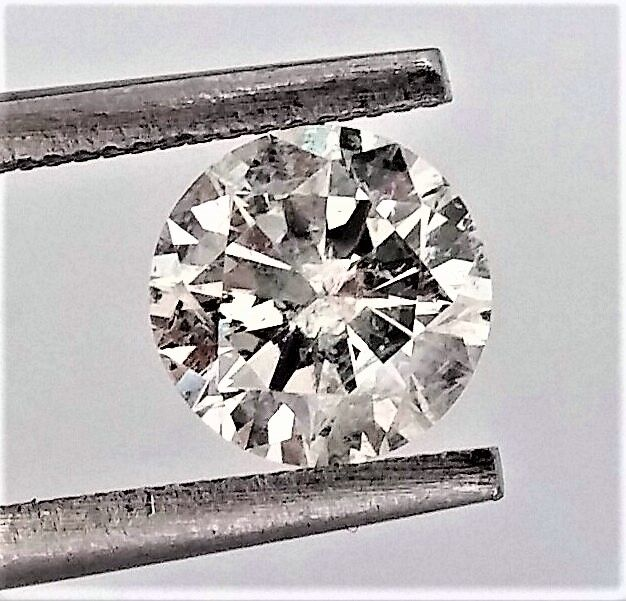 Round Brilliant Cut  - 1.12 carat - G color - SI2 clarity