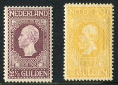 Netherlands 1913 - Independence - NVPH 99 +100