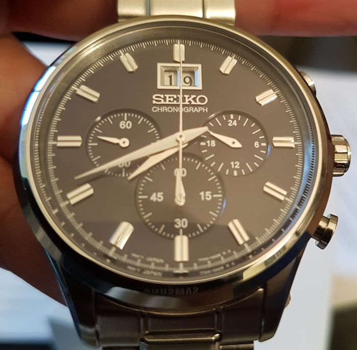 SEIKO CHRONOGRAPH - Men's Watch - 2010
