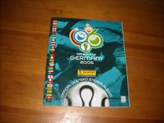 Panini - Football 2006 World Cup sticker album - Complete album
