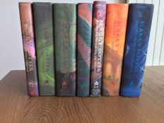 J.K. Rowling - Complete American edition set of the Harry Potter books - 7 volumes - 1998/2007