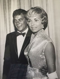 Unknown - Tony Curtis and Janet Leigh - 1950s/60s
