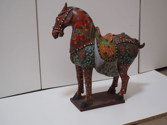 Tang  sancai ceramics horse - China - late 20th century