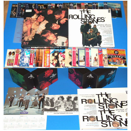 The Rolling Stones Greatest Albums Of the Sixties