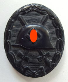 Wounded badge in black 1939