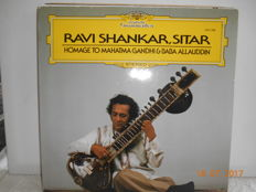 Ravi Shankar & related sitar artists  ''lot of 10 albums ''