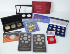 World – 10 different coins and year packs