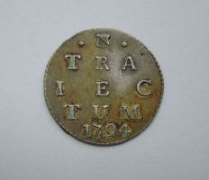 Utrecht – Double Weapon penny 1794 – silver