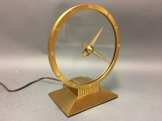 Electric clock - Jefferson Golden Hour Mystery Clock - United States - around 1955 - in impeccable condition.