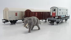 Märklin H0 - 4735 - 4-piece set including Elephant 'Circus KNIE' of the SBB