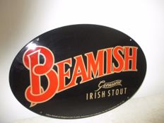 Plaque emaillee Biere Irlandaise BEAMISH