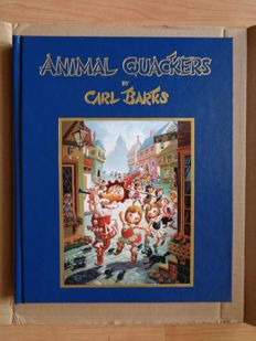 Barks, Carl - Animal Quackers + lithograph - hc - 1st print (1996)