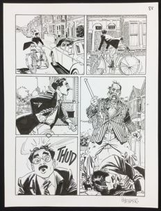 Brindisi, Bruno - original plate for Dylan Dog no. 338 (2014)