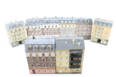 Vollmer H0 - 8-piece set with town houses