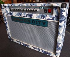 London City Hornet, 50W 2x12 Tube amplifier in Grey Camouflage