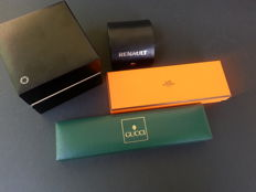 Lot of 4 Watch Boxes, All original