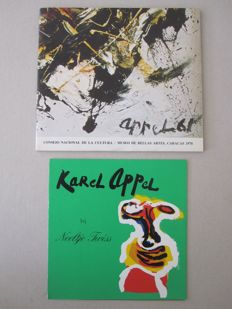 Karel Appel - Lot met 2 zeldzame items - 1978/1980