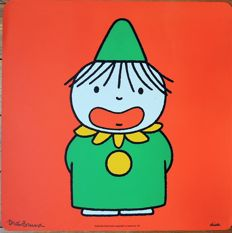 Dick  Bruna - Clown (signed) 1974