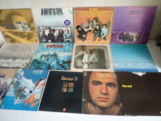 Combined big lot with Dutch Progressive  Rock from the 70's: 9 x Focus ( all major albums are present ) Brainbox, Thijs van Leer, Jan Akkerman. 13 albums in total  ( 4x 2 lp)