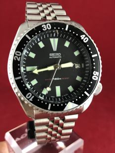 Seiko - Diver Scuba 7002 - Men's wristwatch - 150 M