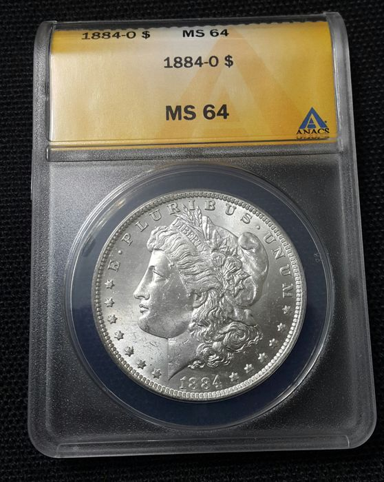 United States - 1 Dollar 'Morgan' 1884-O - silver