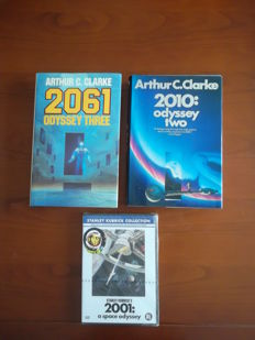 Arthur C.Clarke: Two legendary books and a film classic.