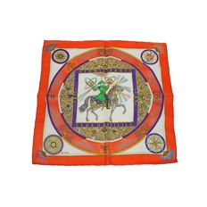 Hermès — 'Feux D'Artifice' handkerchief