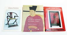 3 books on antique Chinese art – 20th century