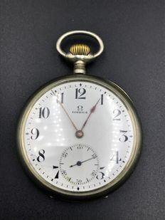 Omega pocket watch, circa 1920.
