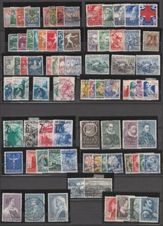 Netherlands 1926/1935 - Selection of occasional series - NVPH 199 through 277, incl. 236 A+B