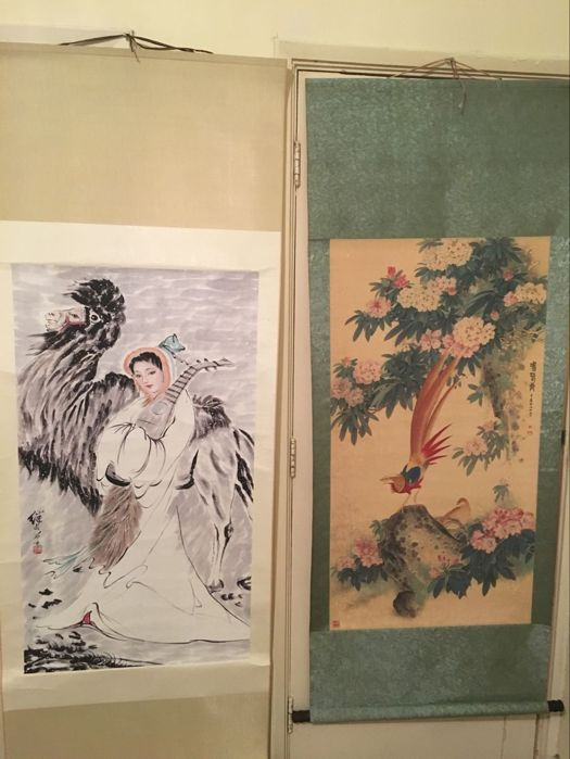 Scroll painting's  - China - late 20th century