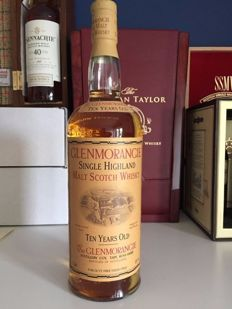 Glenmorangie 10 hand crafted by the sixteen men of tain