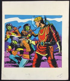 Flash Gordon - Original Cover Artwork - (1960s)