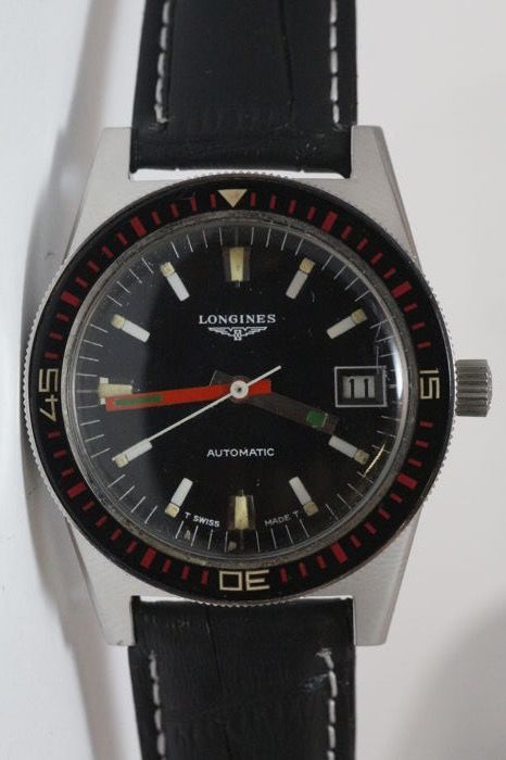 Longines – Waterproof – Men's wristwatch – From the 1970s/1980s.