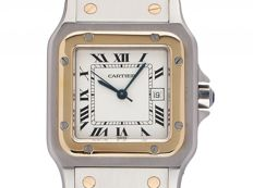 Cartier Santos GM large model vintage -- unisex -- made in 1995