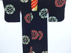 Antique 'Taisho Roman' kosode kimono - Japan - ca. 1930-1940 (end of Taisho/early Showa period)