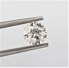 Round Brilliant Cut  - 1.31 carat  - G color  - SI2 clarity  - Natural Diamond  Comes With AIG Certificate + Laser Inscription On Girdle