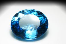 Swiss Blue Topaz – 28.25 ct