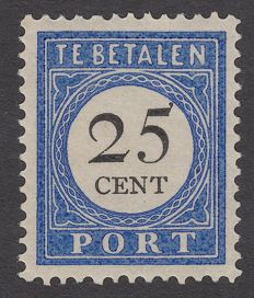 The Netherlands 1894 – postage due – NVPH P26