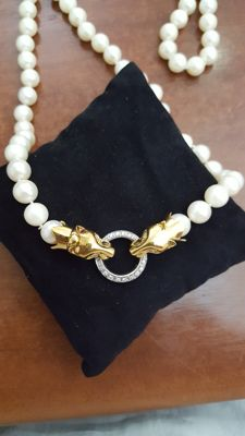 8.5/9 mm pearl necklace