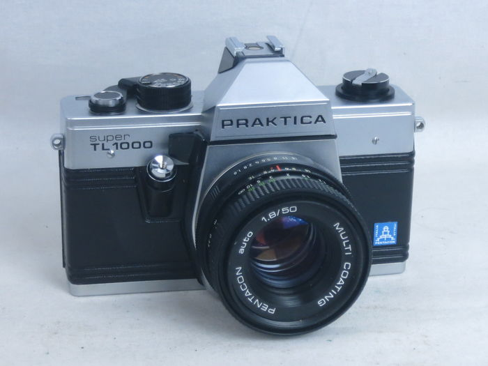 Praktica super tl mm slr camera in very good condition